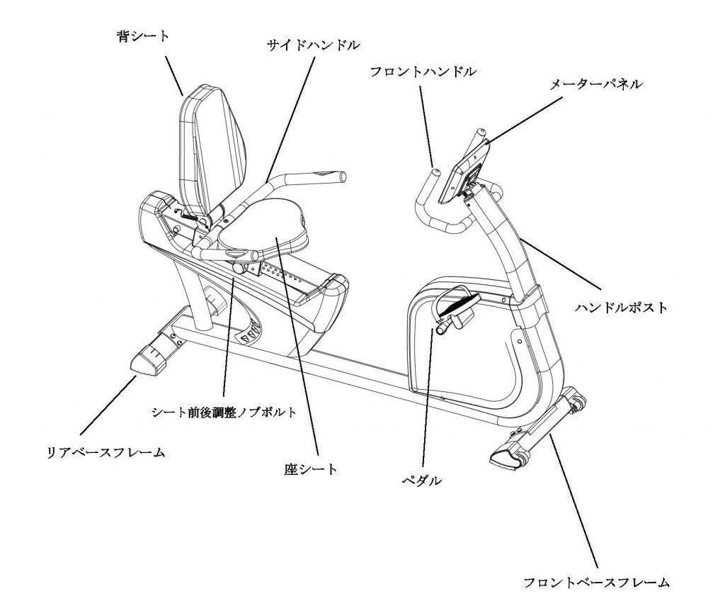 リカンベントバイク SFR-40